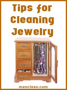 Tips for Cleaning Jewelry at Home #menclean #tips