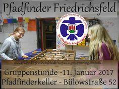 Blog der Pfadfinder Friedrichsfeld: Gruppenstunde am 11. Januar 2017