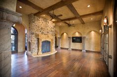 Fall For Fireplaces On Pinterest Tile Fireplace Tiled