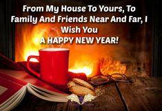Family Wishes, Happy New Year 2020, English, English Language