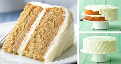 Banana Cake with Fluffy Cream Cheese Frosting – One of my favorite cakes! Always… Banana Cake with Fluffy Cream Cheese Frosting – One of my favorite cakes! Always a hit! Food Cakes, Cupcake Cakes, Rose Cupcake, Candy Cakes, Fluffy Cream Cheese Frosting, Cake With Cream Cheese, Frosting Recipes, Cake Recipes, Dessert Recipes