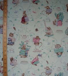 Vintage Peter Rabbit Fabric