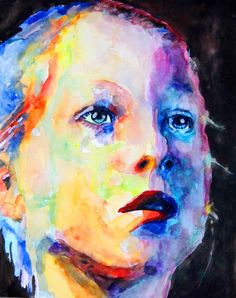 aquarellieren portrait - Google-Suche