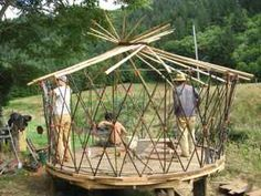 2011 has been a year of yurts, w/two opportunities to try out this simple design of sticks and mud — a more permanent adaptation of the traditional, portable, Mongolian design. One was for a friend and neighbor. The other was … Continue reading →