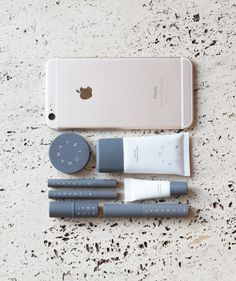 The perfect travel makeup? Takes up just as much space as an iPhone! #makeup Stowaway