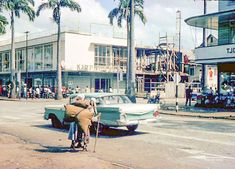 Kirpalani Maagdenstraat 1963 British Guiana, Old Pictures, South America, Street View, Culture, Places, Grandparents, Historia, Nostalgia