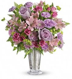 Teleflora's Sheer Delight Bouquet in Huntsville ON, Cottage Country Flowers  CAD  $71.95