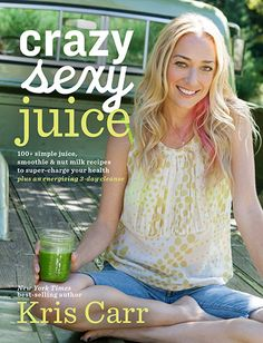A huge congratulations to our friend, Kris Carr who just published a new book, Crazy Sexy Juice! We can wait to start juicing and blending all her amazing recipes. Have you picked up a copy? #kriscarr #crazysexyjuice