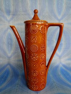 Portmeirion Coffee Pot In Totem Design In by PurelyPortmeirion, £35.00