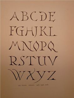 """BIBLIOTYPES: LEWIS F. DAY. """"Alphabets Old & New"""" Graffiti Lettering Fonts, Typography Love, Doodle Lettering, Lettering Styles, Calligraphy Fonts Alphabet, Hand Lettering Alphabet, Handwritten Fonts, Typographie Fonts, Stencil Font"""