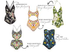 The Best Printed Swimsuit | Sketch&Style