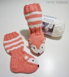 Knitting Patterns Free, Free Knitting, Woolen Socks, Knit Crochet, Crochet Hats, Baby Socks, Baby Booties, Marimekko, Winter Hats