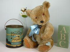 Charlie - 1950/60 Chiltern bear www.onceuponatimebears.co.uk