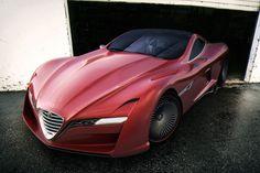 Alfa Romeo 12C GTS concept by Ugur Sahin Design