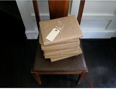 K I N F O L K magazine butcher paper packaging
