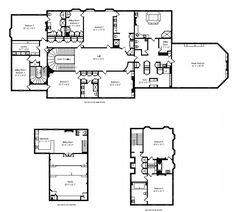Main House Floorplans   $18 Million 29,000 Square Foot Historic Lakefront Mega Mansion In Lake Bluff, IL