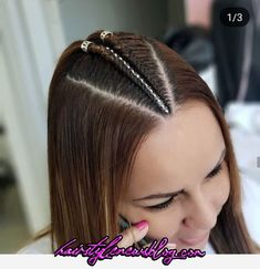 Hairstyle with braids Braided Hairstyles For Teens, Teen Hairstyles, Hair And Skin Vitamins, Natural Hair Styles, Short Hair Styles, Girl Hair Dos, Shaved Hair Designs, Hair Color For Women, Baddie Hairstyles