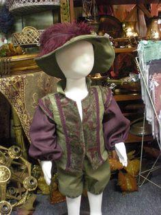 Little Romeo Toddler Renaissance Outfit - 18 month-2T. $56.00, via Etsy.