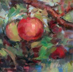 """Just Turning"" - Original Fine Art for Sale - © Mary Maxam"