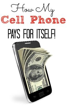 Find out how my cell phone bills is FREE! Yes my cell phone pays for itself! Your can too all you need is a smartphone!