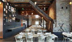 Spritmuseum - Google Search Stockholm Restaurant, Cafe Restaurant, Retail Interior, Restaurant Interior Design, Dining Room Design, Dining Area, Bar Design Awards, Greek Restaurants, Wooden Bathroom
