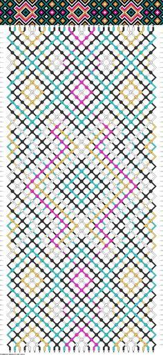 30 strings, 64 rows, 5 colors