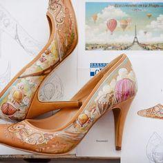 Este par inspirado en París es uno de sus preferidos. | Estos sensacionales zapatos de boda harán que quieras casarte