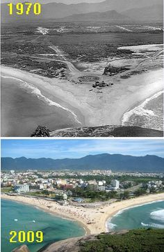 Barra da Tijuca 1970 Then And Now Pictures, Old Pictures, Old Photos, Great Places To Travel, History Of Time, Rio Brazil, Memories Faded, Jesus Painting, London Travel