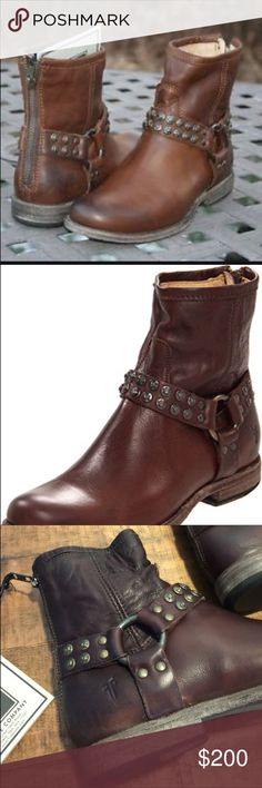 Beautiful Frye Harness Boots Brand New in Box. Brand new Frye Harness Boots. Frye Shoes Ankle Boots & Booties