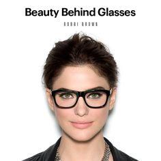 Bobbi Brown Makeup Lessons: Beauty Behind Glasses