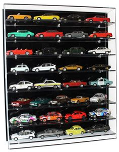 Acrylic Model Wall Display Case for 1 43 Model Cars With 8 Shelves for sale online