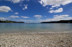 A fabulous beach in the Helford passage, within Trebah gardens Cornwall