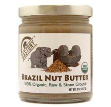 Stone Ground 100% Organic Raw Brazil Nut Butter - 8 oz