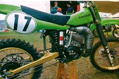1979/80- Kawasaki Factory Works Racer with all new Uni-Trak suspension system.
