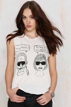 Hips and Hair Metal Heads Muscle Tee - check out my blog handlethisstyle.com