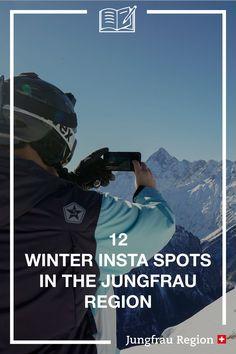 Check out our 12 Winter Insta Spots 🤳🏔️ #instaspots #winter #insta #instagram #pictures #picturespots #hotspot #photos #influencer #december #snow #cold #nature #mountains #grindelwald #wengen #lauterbrunnen #mürren #haslital #jungfrauregion #madeinbern #switzerland Eiger North Face, Wengen Switzerland, Grindelwald, Haha, Guy, Skyline, Journey, Influencer, Winter Pictures