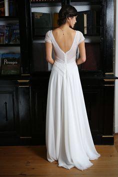 Beryl - Moi la parisienne branchée - Robes de Mariées Paris Elsa Gary