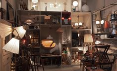 Great vintage in Stockholm located in an old fire station...