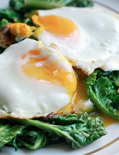 Garlicky Sautéed Greens with Eggs Recipe (5 Ways to Have Eggs for Dinner)