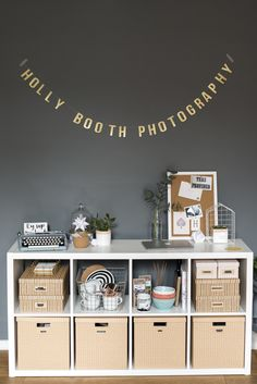 Holly Booth Photography - Studio Makeover