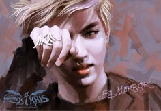 Shared by LA●Sy. Find images and videos about kpop, exo and k-pop on We Heart It - the app to get lost in what you love. Exo Band, Exo Fan Art, Wu Yi Fan, Kpop Fanart, Find Image, We Heart It, Stylists, Tumblr, Kris Exo