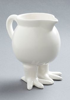 I love love love this!!  Feeling Pirched Pitcher - White, Quirky, Minimal, Solid