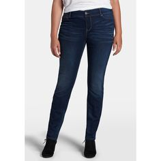 maurices Plus Size - Denim Flex ™ Jegging In Dark Wash ($27) ❤ liked on Polyvore featuring pants, dark sandblast, plus size, blue pants, slim pants, plus size jeggings, blue denim pants and plus size pants