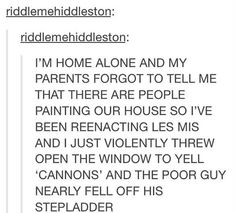 I JUST SPEND A SOLID 5 MINUTES LAUGHING AT THIS OH MY GOD IM CRYING
