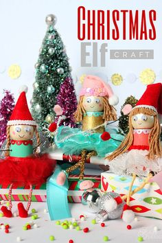 Christmas Elf Kids Craft