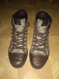 d79641a6c0e Gucci men fashion sneakers high top GG Shoe size 9  fashion  clothing  shoes