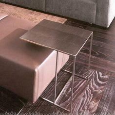 Catalogue | Furniture | Coffee tables | Minotti Leger на портале www.6a3a.ru