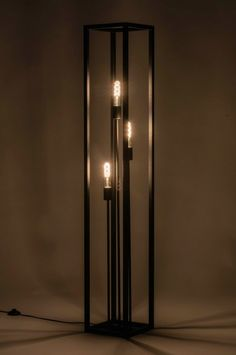 Vloerlamp 73359: Industrie, Look, Modern, Stoer Corner Lamp, Scrap Metal Art, Office Lighting, Industrial Interiors, Lent, Lamp Design, Sconces, Wall Lights, Bulb