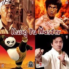 Galera, please, quem é o grande mestre do Kung Fu???