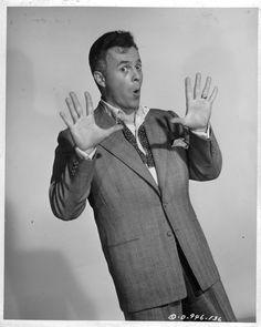 """LARRY PARKS is AL JOLSON in """"THE JOLSON STORY"""" (1946)."""